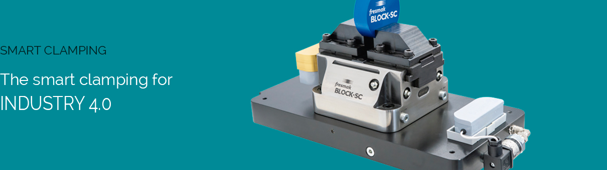 The smart clamping for INDUSTRY 4.0