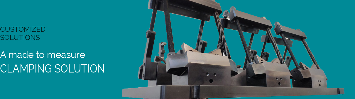 a made to measure clamping solution