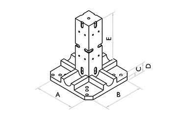 Base 4x90